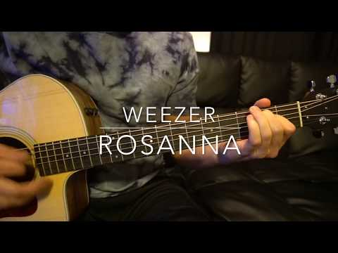Weezer // Rosanna // Easy Guitar Lesson (W Tabs!)