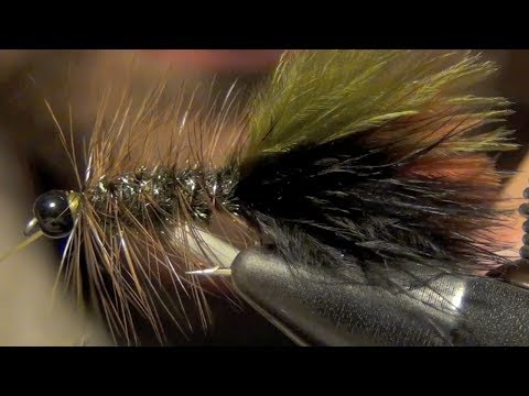 Thinmint Woolly Bugger Streamer Fly Tying Video Instructions