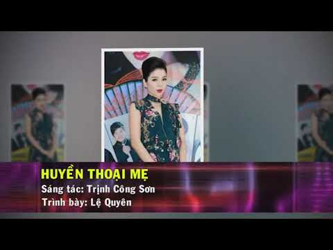 Huyền Thoại Mẹ karaoke Tone Nam