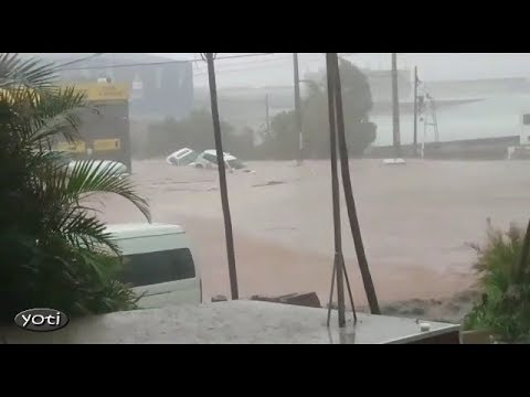 Massive storm hits Durban South Africa (Prt 1)