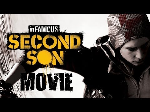 Infamous: Second Son All Cutscenes (Game Movie) 1080p HD