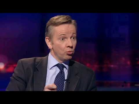 Michael Gove confronted on criticism of Lord Ashcroft