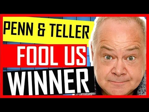 John Archer  Going On Penn & Teller's Fool Us  EXCLUSIVE