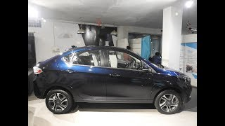 Tata Tigor Facelift 2018 XZ+ Top Model Detailed WalkAround || Interiors || Exteriors || New Colour