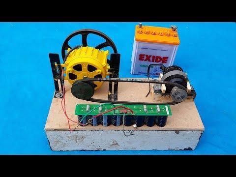 Making self running free energy generator but failed!!