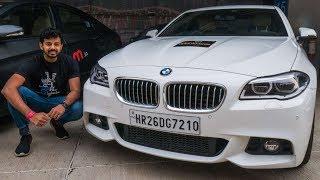 BMW 530d M Sport Review On Track | Faisal Khan