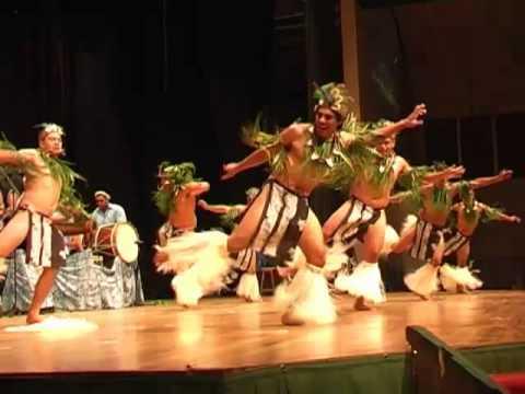 Orama drum dance from Te Maeva Nui 2010 in Rarotonga, Cook Islands