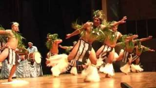 Orama drum dance from Te Maeva Nui 2010 in Rarotonga, Cook Islands