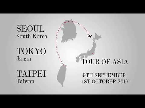 Tour of Asia 2017 - Video diary #3: Seoul & Japan