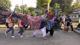 2013年 宇波の獅子舞