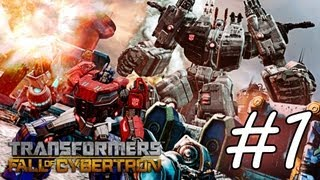 Transformers Fall of Cybertron: Gameplay Walkthrough - Episode 1 - Exodus