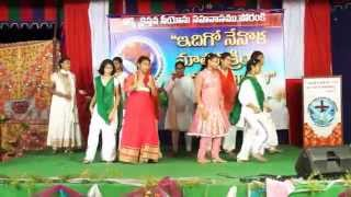 Pray for India dance performance by church kids