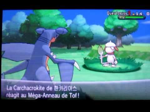 Mega evolution shiny carchacrok youtube - Mega carchacrok ...