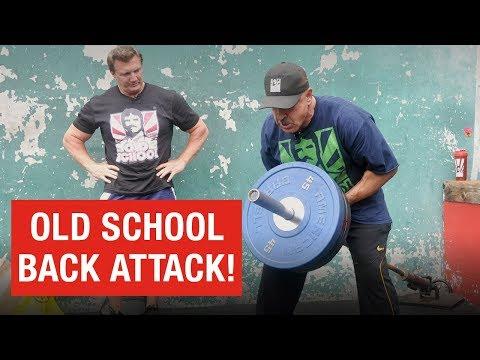 Samir Bannout & John Hansen: Killer Back Workout At the Mecca!