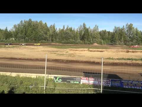 6/13/2015, Ministock, Heat 2, Capitol Speedway, Willow, Alaska