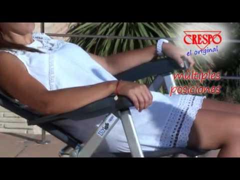 Crespo: Silla aluminio reforzada AL 237  Reinforced aluminium chair