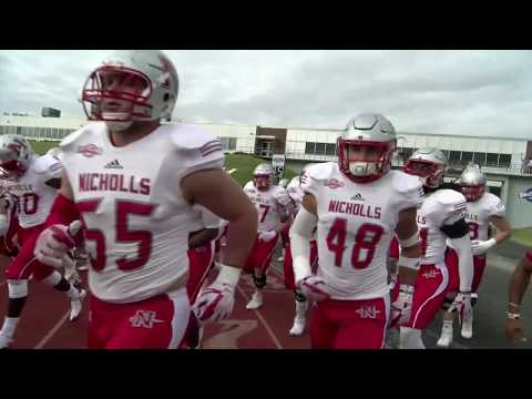 Nicholls Football: Colonels @ Stephen F Austin