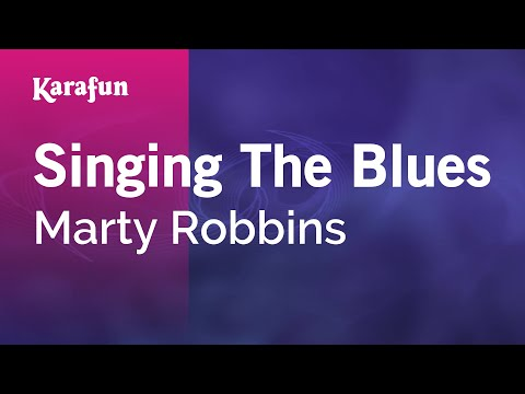 Karaoke Singing The Blues - Marty Robbins *