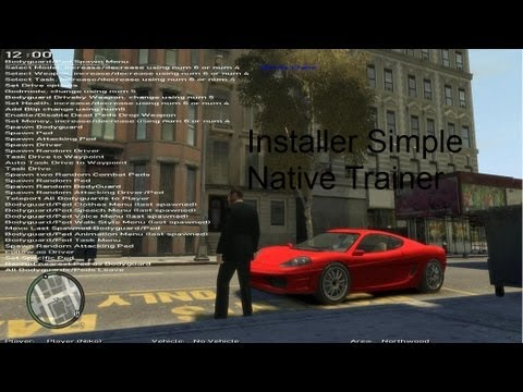 Download Gta Iv Simple Native Trainer 6 5 Install Works On