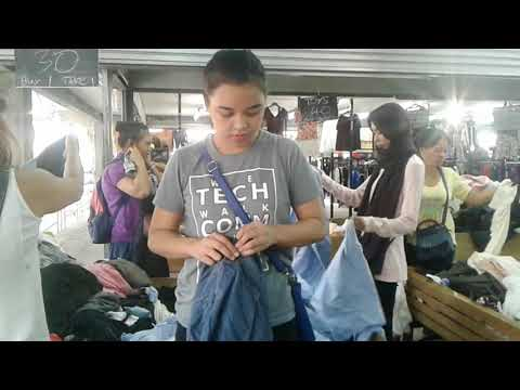 Vlog 2: What can you buy for only 50 pesos in Cogon #Ukay-ukay