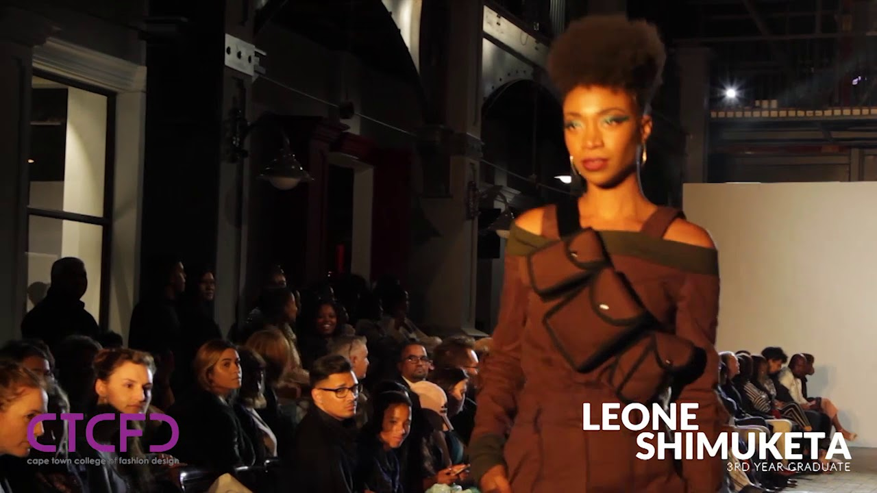 Leone Shimuketa 3rd Year Graduate Collection Ctcfd Annual Fashion Show 2018 Youtube