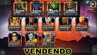 VENDENDO CONTA TOP COM 5 R5 8 5 ESTRELAS - Marvel Torneio De Campeões