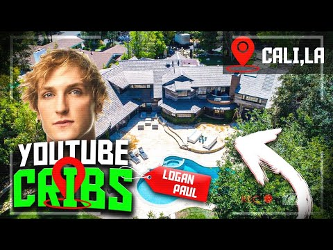 YouTube Cribs! Inside Logan Pauls Mansion Resort.