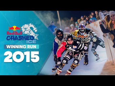 Scott Croxall's Winning Ice Cross Downhill Run - Red Bull Crashed Ice 2015