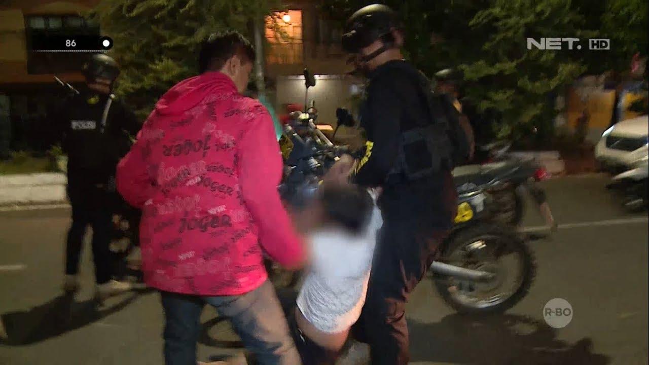 Penangkapan Terduga Gangster di Makassar Oleh Tim Penikam - 86