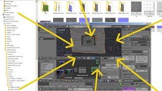 Blender 3D Tutorial - Texturen verwalten (deutsch)