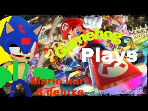 everything in the game HITS ME!!!! | Gamehog plays Mario Kart 8 deluxe 200 CC |