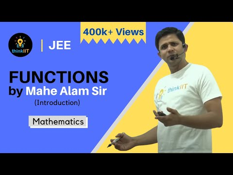 1 Introduction of Function by Mahe Alam Sir