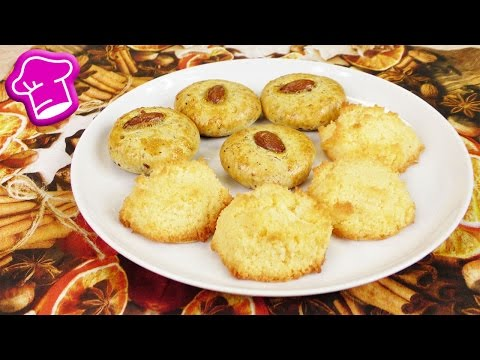 Weihnachts Kekse Backen | Kokos Makronen & Marzipan Plätzchen | 2 Super Leckere Rezepte
