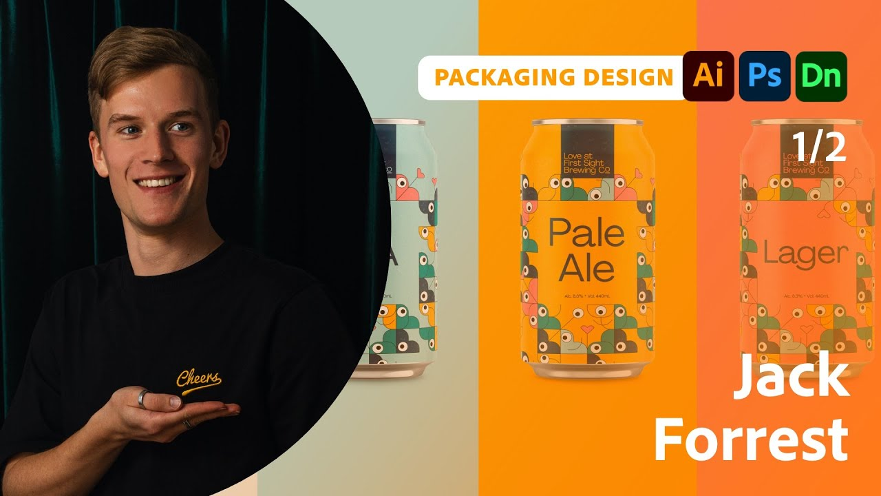 Packaging and Branding Design with Jack Forrest - 1 of 2