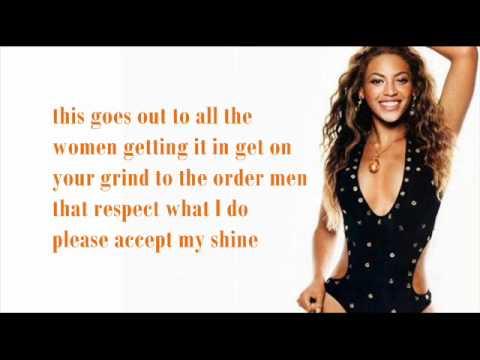 Beyoncé - Who Run The World (Girls) [with lyrics].