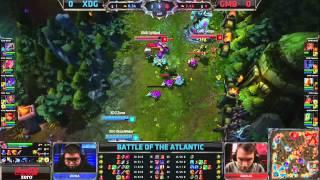 XDG vs GMB G1 - Battle of the Atlantic