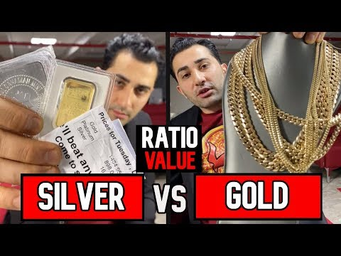 SILVER Better Than GOLD!? ARE THEY ALIKE?