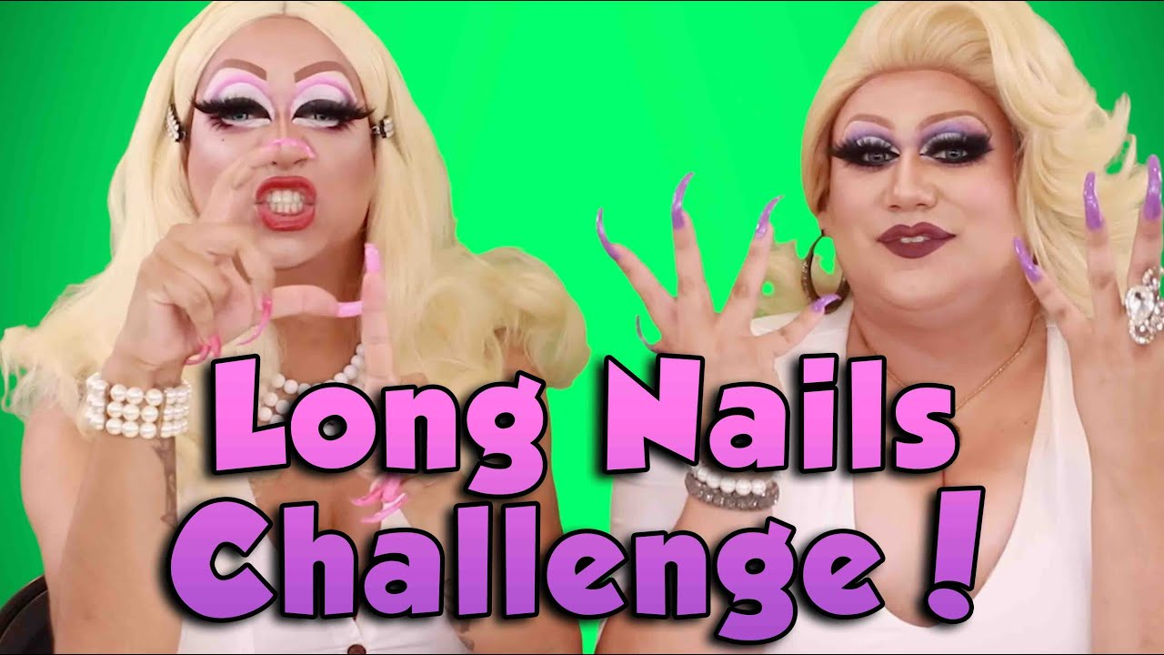 Long Nails Challenge!
