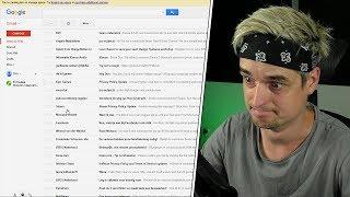 Reageren op spam e-mailtjes..