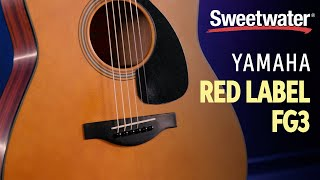 Yamaha Red Label FG3 Acoustic Guitar Demo