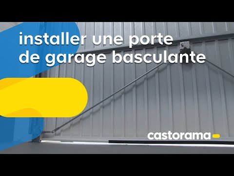 installer une porte de garage basculante castorama. Black Bedroom Furniture Sets. Home Design Ideas