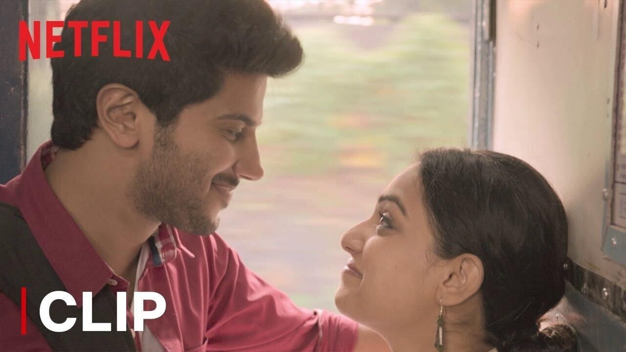 Dulquer Salmaan & Nithya Menen Meet On A Train   O Kadhal Kanmani   Netflix India