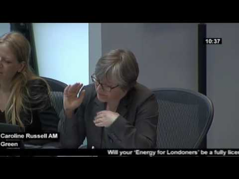 """Mayor pledges """"more competitive choice of energy supplier"""" - Caroline Russell AM"""