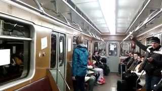 Revoluční metro 17. 11. 2014 včetně dobového hlášení v obou směrech (Dukelská a Florenc) thumbnail