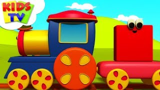 Shapes Train | Bob The Train | Learning Videos For Babies | Cartoon Shows - Kids TV