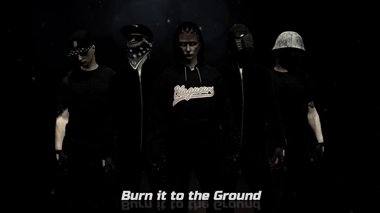 『Burn It To The Ground』