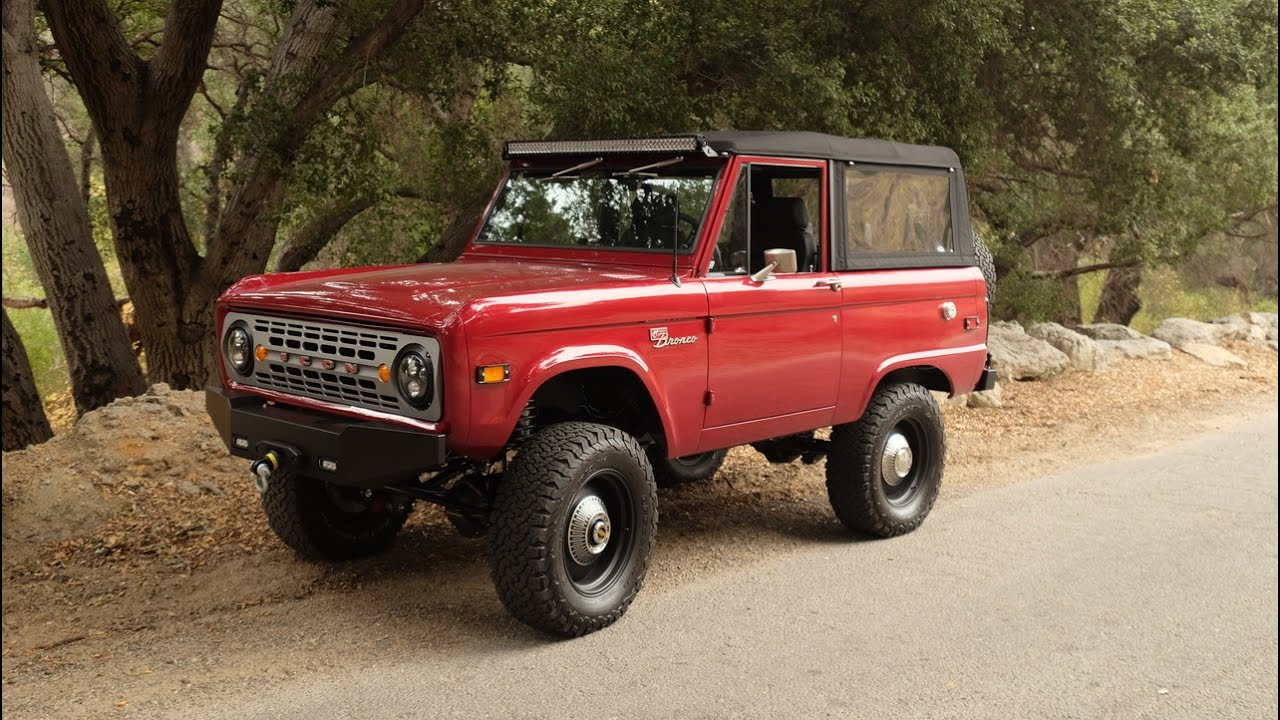 Icon br ford bronco 24 for sale now youtube