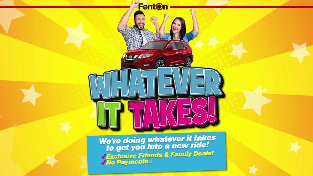 Fenton Nissan East >> Fenton Nissan East Whatever It Takes Youtube