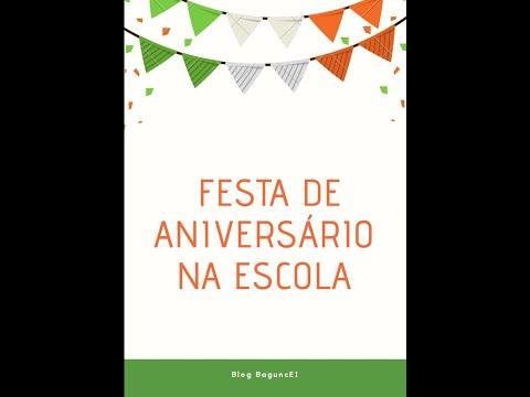 Blog BaguncEI - Festa de Aniversário na Educação infantil