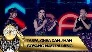 Trio Imut! Goyang Nasi Padang Bareng Tasya, Ghea Dan Jihan - ADI 2018 (16/11)